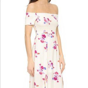 f7b1fdbb61c MINKPINK Dresses - MINKPINK Falling Blooms Maxi Off Shoulder Dress